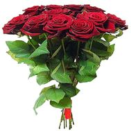 Bouquet of 11 red roses - flowers and bouquets on roza.zp.ua