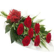 """""""Букет из 7 красных роз"""" в интернет-магазине цветов roza.zp.ua"""