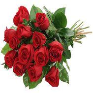 Букет квітів з 13 троянд - цветы и букеты на roza.zp.ua