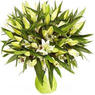 """Bouquet of 21 lilies"" in the online flower shop roza.zp.ua"