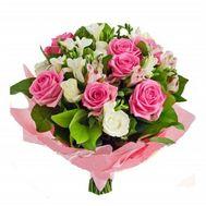 """""""Букет квітів з троянд і альстромерій"""" в интернет-магазине цветов roza.zp.ua"""
