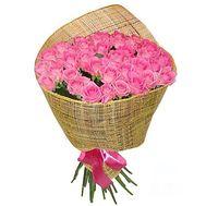 """Букет з 35 рожевих троянд"" в интернет-магазине цветов roza.zp.ua"