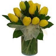 """Букет з 11 тюльпанів"" в интернет-магазине цветов roza.zp.ua"