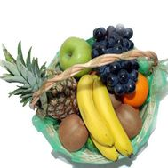 """Fruit basket."" in the online flower shop roza.zp.ua"