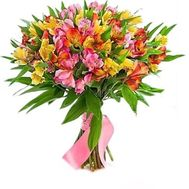 Bouquet of 27 alstromeries - flowers and bouquets on roza.zp.ua