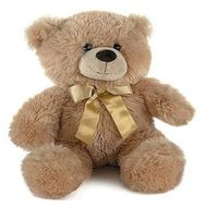 """Soft toy - Brown bear"" in the online flower shop roza.zp.ua"