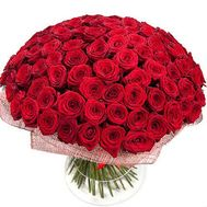 Bouquet of 151 red roses - flowers and bouquets on roza.zp.ua