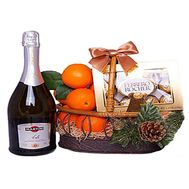 """New Year''s gift set"" in the online flower shop roza.zp.ua"