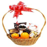 Gift basket - flowers and bouquets on roza.zp.ua
