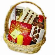 """Basket of sweets"" in the online flower shop roza.zp.ua"