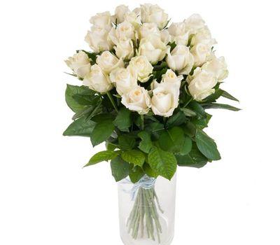 """""""Букет из 25 белых роз"""" в интернет-магазине цветов roza.zp.ua"""