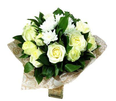 """""""Букет в белых тонах"""" в интернет-магазине цветов roza.zp.ua"""