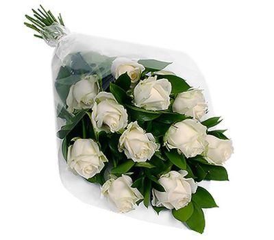 """""""Букет из 11 белых роз"""" в интернет-магазине цветов roza.zp.ua"""