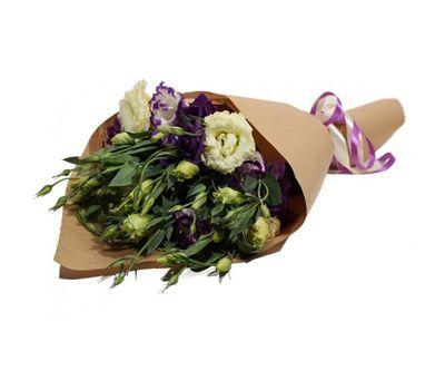 """""""Букет эустом в бумаге"""" в интернет-магазине цветов roza.zp.ua"""