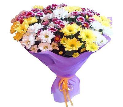 """""""Букет из 15 хризантем"""" в интернет-магазине цветов roza.zp.ua"""