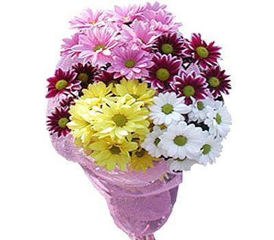 """""""Маленький букет хризантем"""" в интернет-магазине цветов roza.zp.ua"""