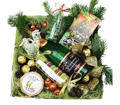 """""""Подарочная коробка на Новый год"""" в интернет-магазине цветов roza.zp.ua"""