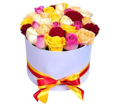 """""""Популярный букет в коробке"""" в интернет-магазине цветов roza.zp.ua"""