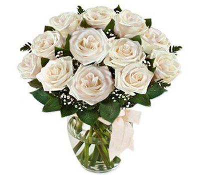 """""""Букет цветов из 13 белых роз"""" в интернет-магазине цветов roza.zp.ua"""