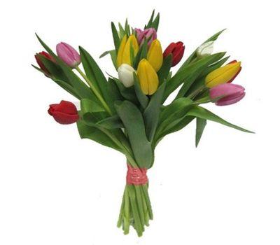 """""""Букет из 17 тюльпанов"""" в интернет-магазине цветов roza.zp.ua"""