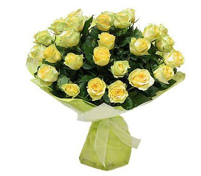"""""""Букет цветов из 31 желтой розы"""" в интернет-магазине цветов roza.zp.ua"""