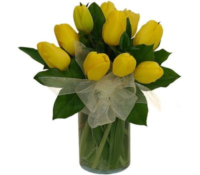 """""""Букет из 11 тюльпанов"""" в интернет-магазине цветов roza.zp.ua"""