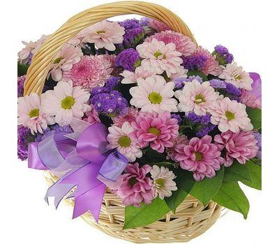 """""""Корзина цветов из 13 хризантем"""" в интернет-магазине цветов roza.zp.ua"""