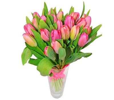 """""""Букет из 25 тюльпанов"""" в интернет-магазине цветов roza.zp.ua"""