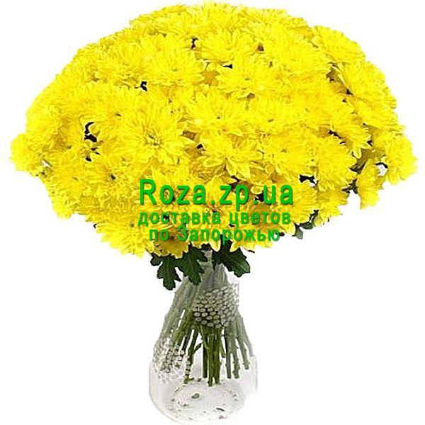 Букет из желтых Хризантем купить в Спб. Доставка цветов по Санкт ... | 600x600