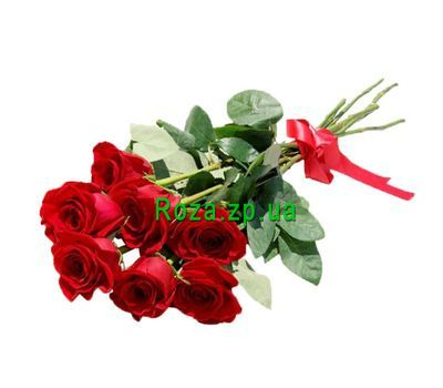 """7 red roses"" in the online flower shop roza.zp.ua"