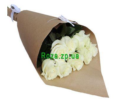 """""""9 белых роз"""" в интернет-магазине цветов roza.zp.ua"""