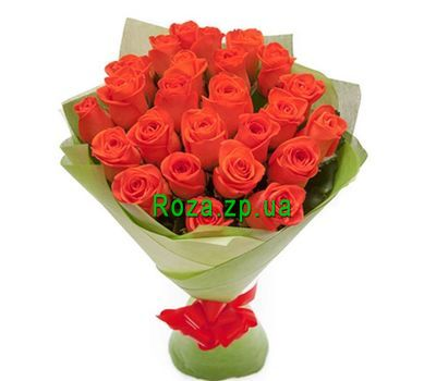 """25 orange roses"" in the online flower shop roza.zp.ua"