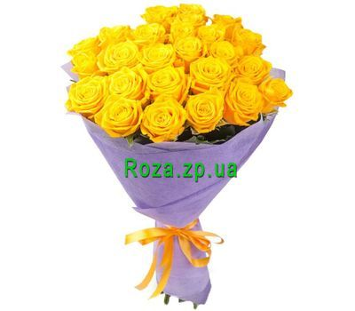 """25 yellow roses"" in the online flower shop roza.zp.ua"