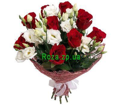 """""""9 роз и 6 эустом"""" в интернет-магазине цветов roza.zp.ua"""