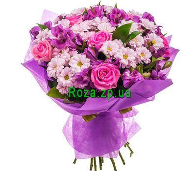 """""""Букет из роз, хризантем и альстромерий"""" в интернет-магазине цветов roza.zp.ua"""