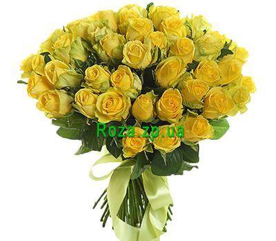 """""""Букет из 51 желтой розы"""" в интернет-магазине цветов roza.zp.ua"""
