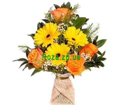 """Cascade bouquet"" in the online flower shop roza.zp.ua"