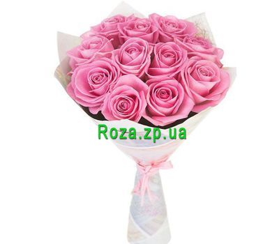 """11 pink roses"" in the online flower shop roza.zp.ua"