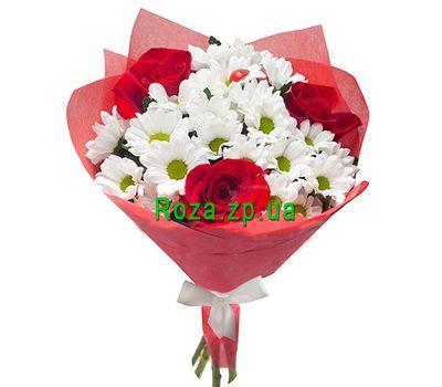"""""""Букетик из роз и хризантем"""" в интернет-магазине цветов roza.zp.ua"""