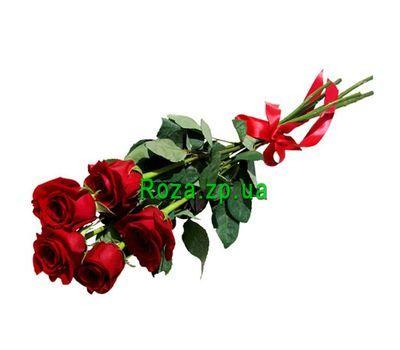 """""""5 роз"""" в интернет-магазине цветов roza.zp.ua"""