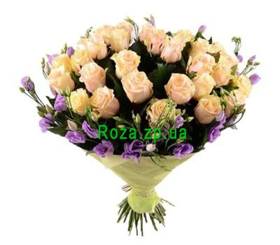 """Chic bouquet with eustoma"" in the online flower shop roza.zp.ua"