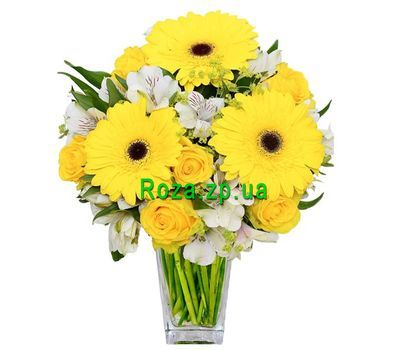 """Sunny bouquet"" in the online flower shop roza.zp.ua"