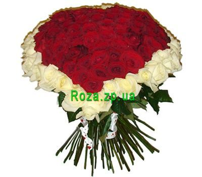 """101 roses"" in the online flower shop roza.zp.ua"
