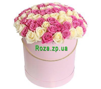 """""""101 роза в коробке в Запорожье"""" в интернет-магазине цветов roza.zp.ua"""