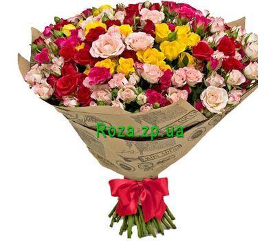 """""""Большой букет кустовых роз"""" в интернет-магазине цветов roza.zp.ua"""