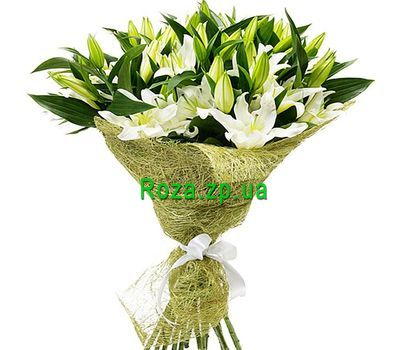"""""""Bouquet of 15 lilies"""" in the online flower shop roza.zp.ua"""