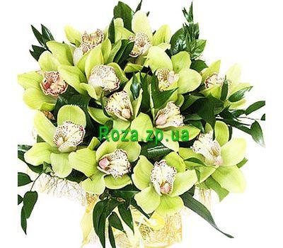 """""""Букет зеленых орхидей"""" в интернет-магазине цветов roza.zp.ua"""