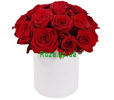 """""""Красные розы коробке"""" в интернет-магазине цветов roza.zp.ua"""