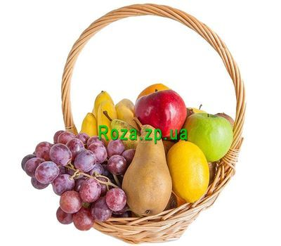 """""""Маленькая корзина фруктов"""" в интернет-магазине цветов roza.zp.ua"""