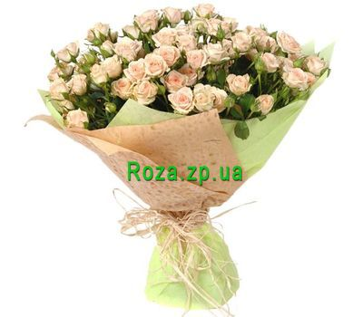 """Fashionable bouquet of bush roses"" in the online flower shop roza.zp.ua"
